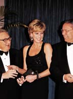 Diana, Kissinger  and Powell